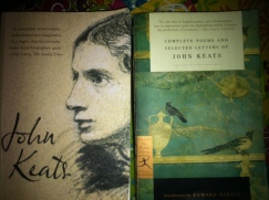 A phenomenal biography on Keats by Nicholas Roe and the perfect anthology of Keats's work.